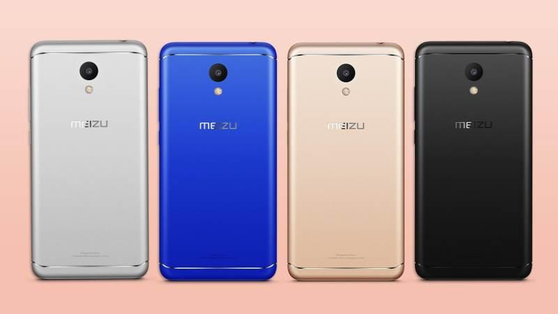 Meizu M6 in all colors