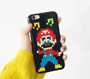 Funda móvil Mario Bross