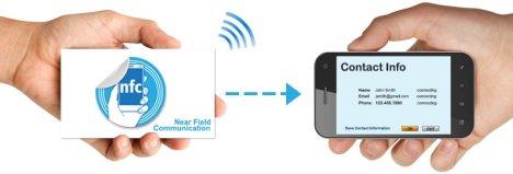 NFC-technology-business-cards