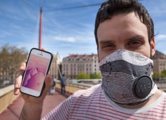 Wair anti pollution scarf
