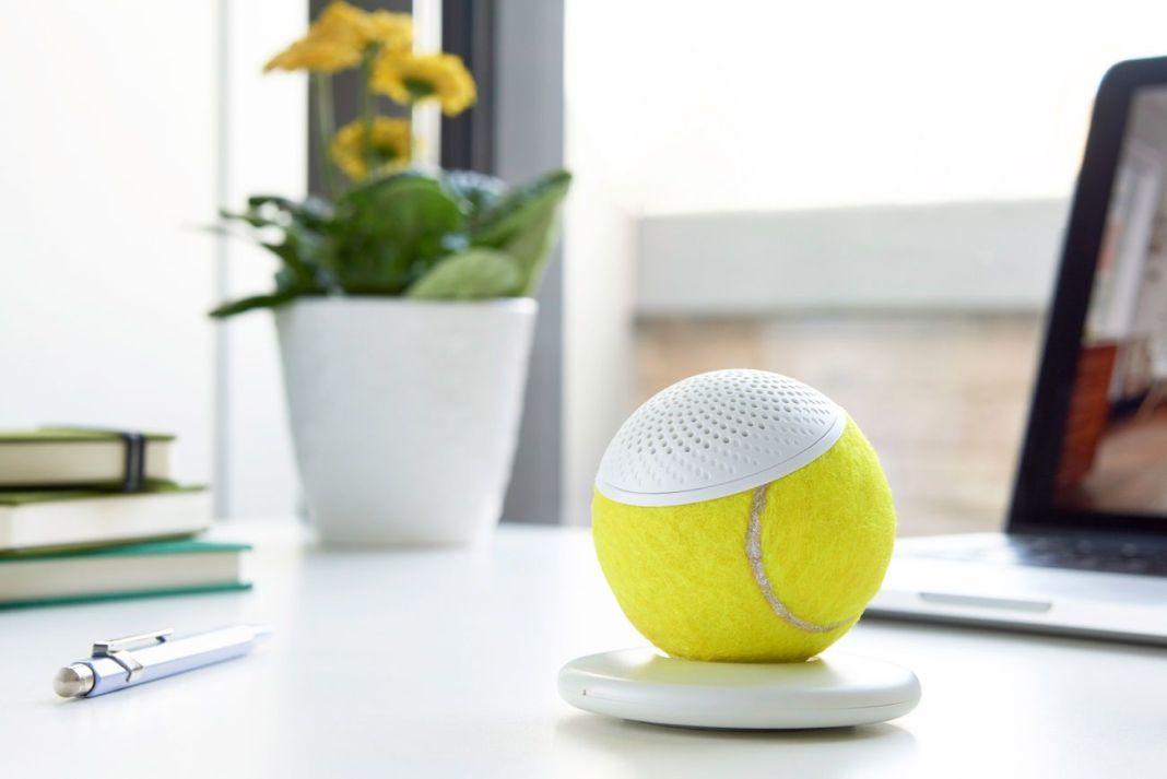 hearO Wimbledon Tennis Ball Speaker 01