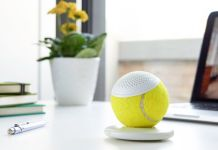 hearO Wimbledon Tennis Ball Speaker 01
