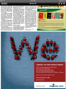 Philam Life Power of We Ad in Inquirer