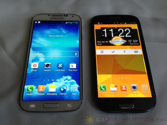 Galaxy S4 vs Galaxy S3