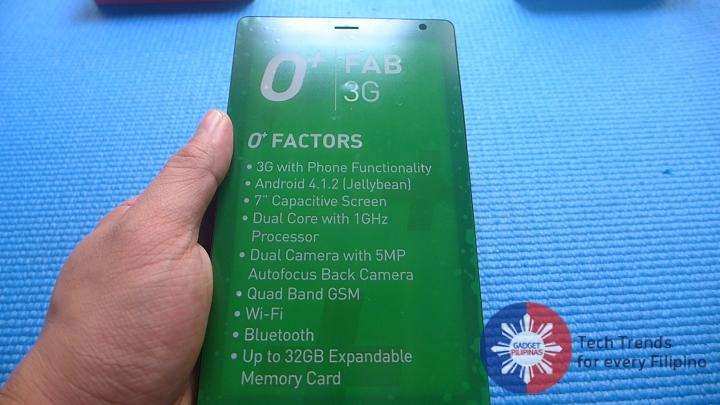 O+ Fab 3G 10