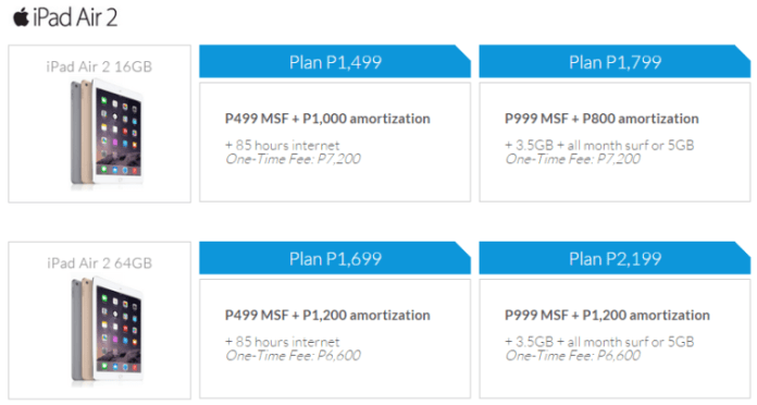 , Smart Now Offers iPad Mini 3 and iPad Air 2, Gadget Pilipinas, Gadget Pilipinas