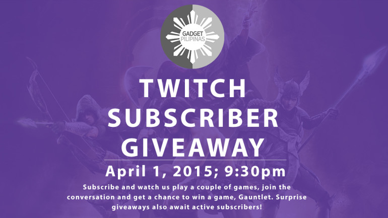 Twitch Giveaway