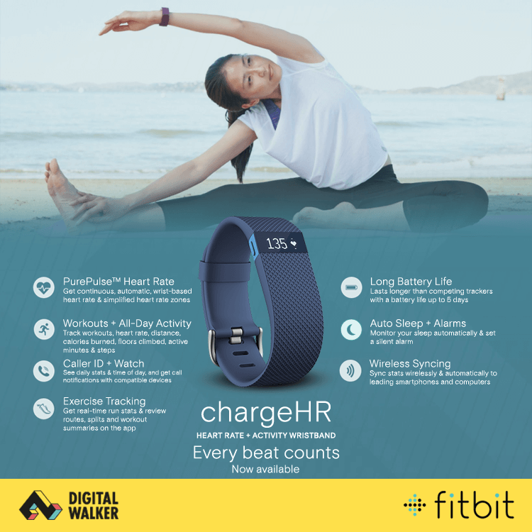 Digits fitbit chargeHR