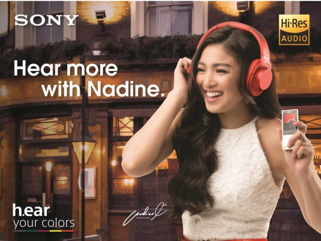 Nadine Lustre for Sony Personal Audio 1