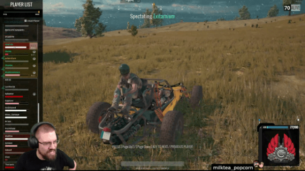 PlayerUnknown's Battleground Hype Train is Unstoppable