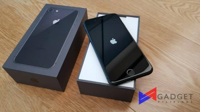 iPhone 8 or iPhone X 7