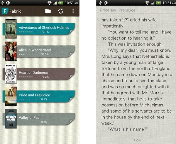 Fabrik Reader: Top App for Nexus 7