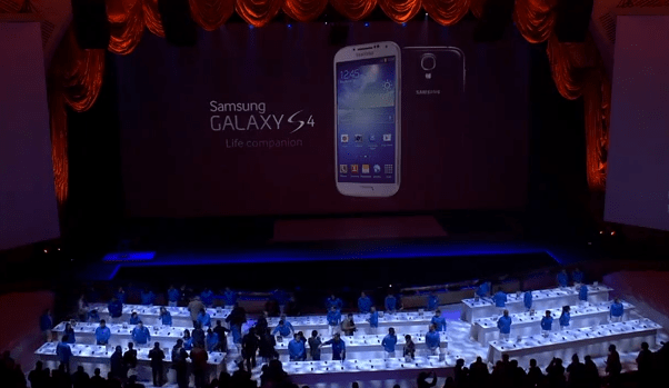 samsung s4 launch event