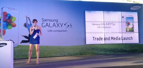 galaxy s4 launch
