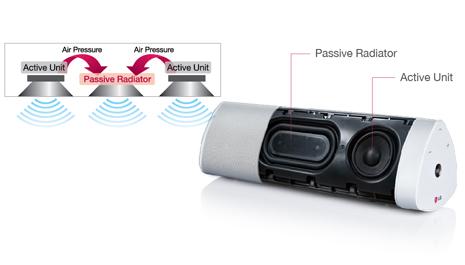 NP3530 Passive Radiator