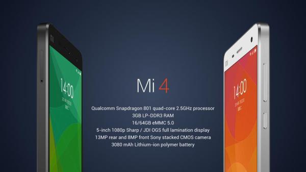 Mi4-specs