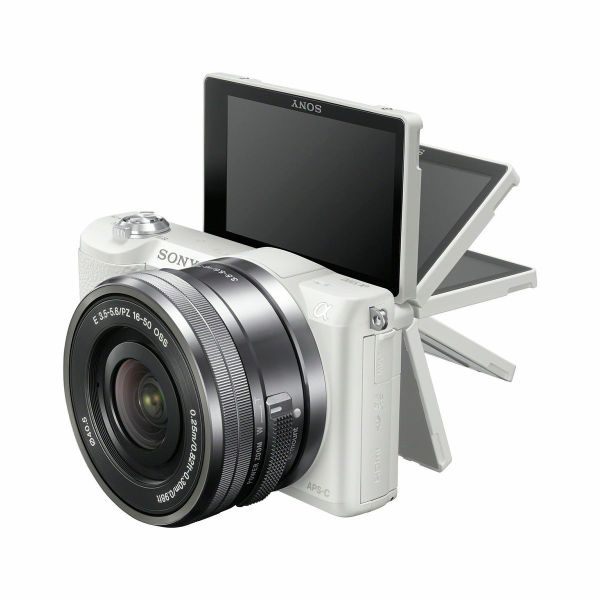 sony a5100 180 flip touchscreen