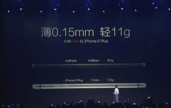 super thin xiaomi-note