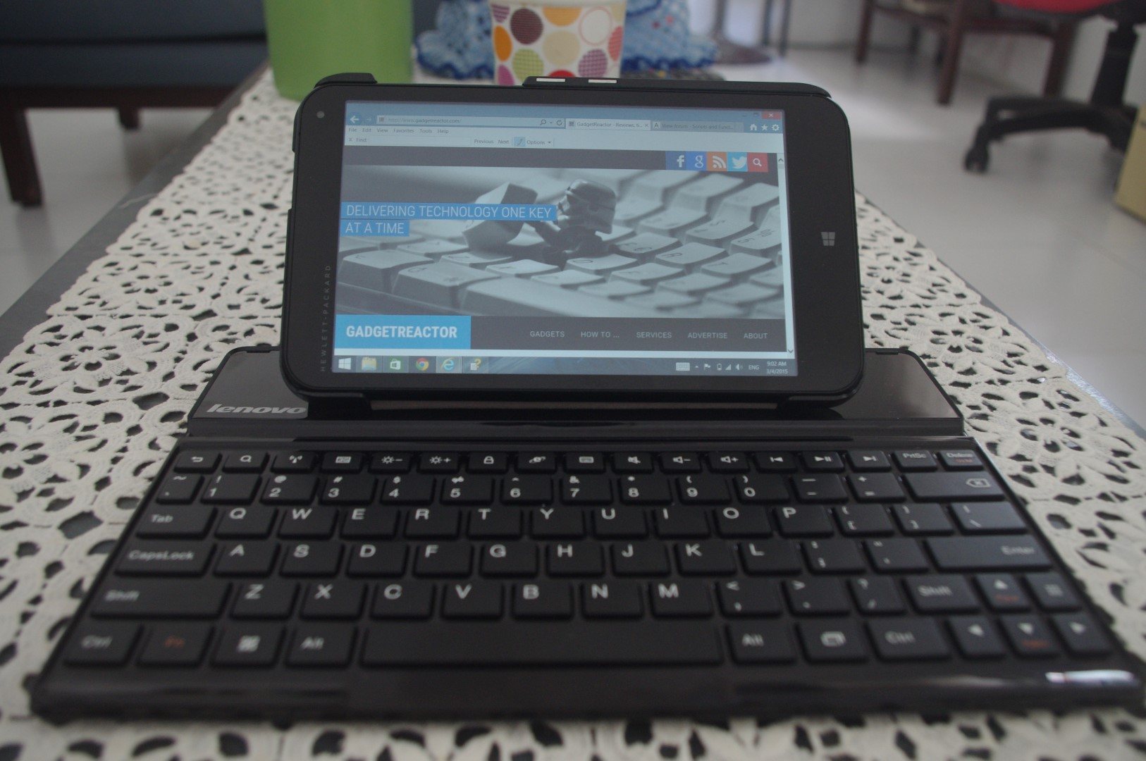 Review: Lenovo S6000 Bluetooth Keyboard – GadgetReactor