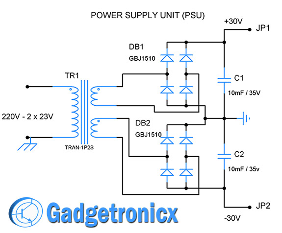 audio-amplifier-circuit-psu-unit