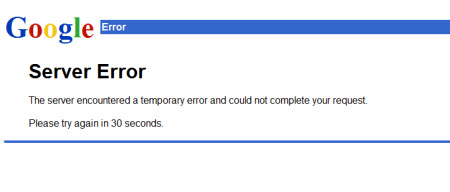 gmail down