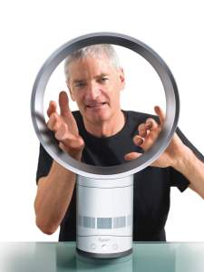 james dyson with air multiplier