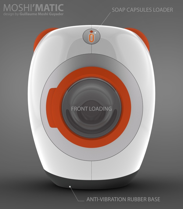 Moshi matic android washing machine