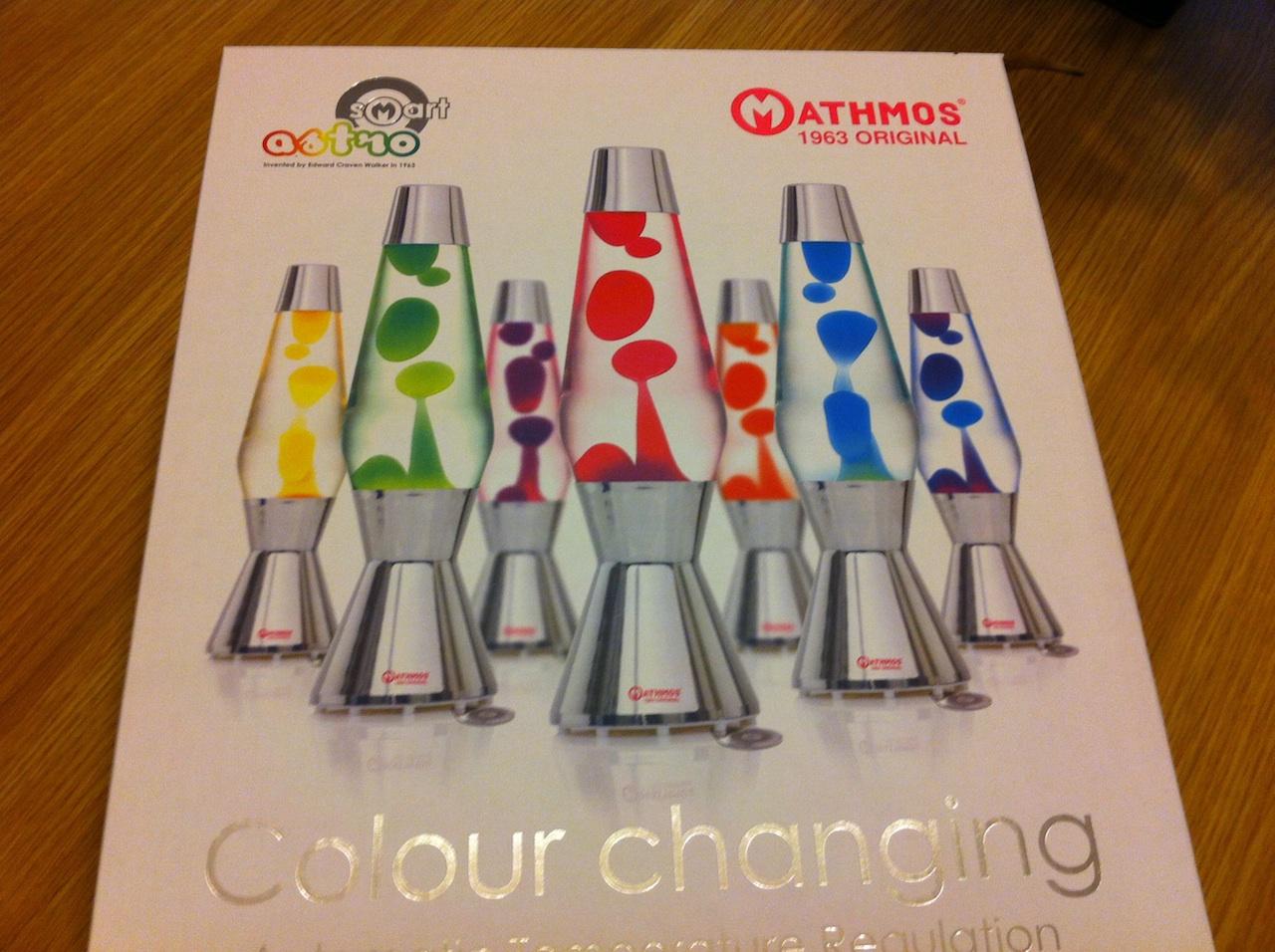 Mathmos Smart Astro Colour Changing Lava Lamp Review