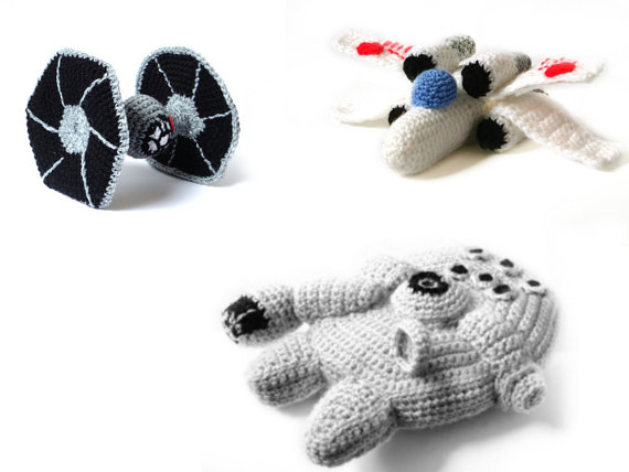 Crocheting Gadgets : Star Wars Crochet Characters for the fan who has everything Gadgets ...