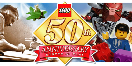 LEGO 50 years old