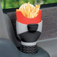 The Fry Holder For Your Car