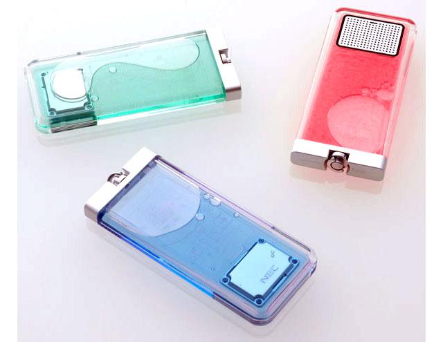 nec flask phone