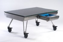 Anyone For Space Invaders? The Solar Powered Table