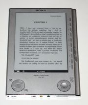 The Sony Ereader