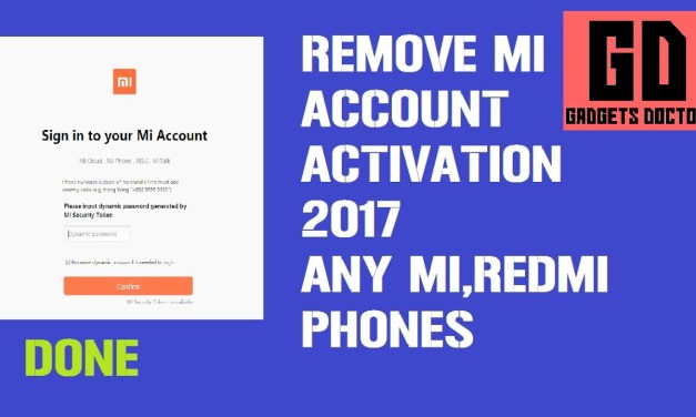 BYPASS MI ACCOUNT MIUI 9 ANDROID 7.0  ON ALL XIAOMI DEVICES