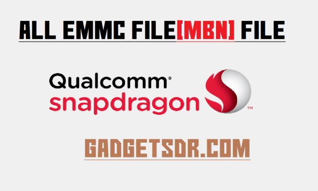 "All Qualcomm ""Prog eMMC Firehose""  Programmer file  Download"