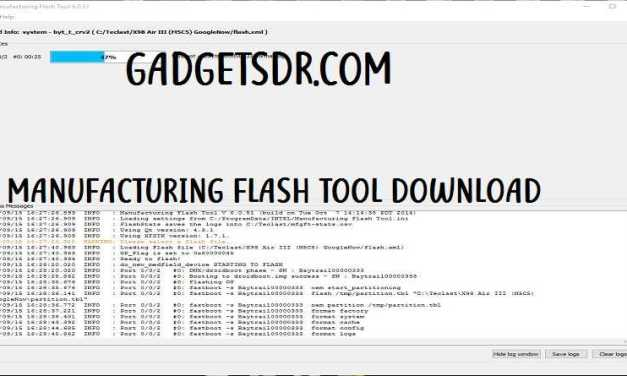 Download Manufacturing Flash tool 6.0.51 Latest Free
