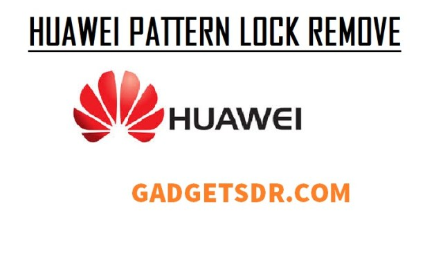 Huawei P20 Remove Password / Pattern Lock