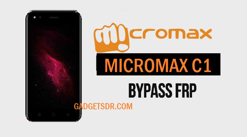 Bypass Google Account Micromax C1 With SP Tool -2018