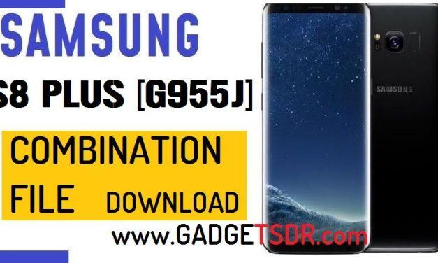 Samsung S8 Plus SM-G955J Combination File