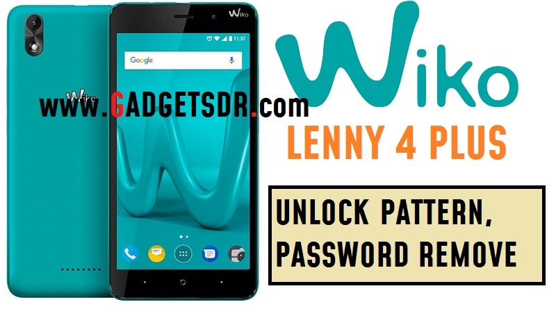 How to Unlock Pattern Wiko Lenny 4 Plus-Hard reset
