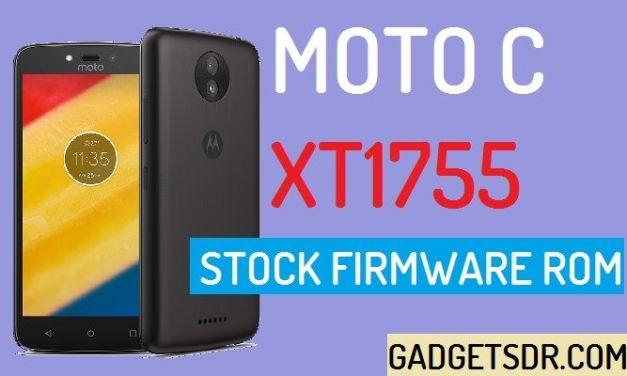 Moto C XT1755 Stock Firmware Rom (Flash File)
