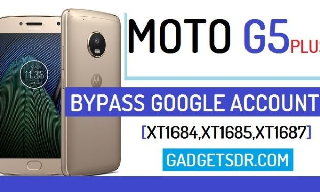 Bypass Google Account Moto G5 Plus (Bypass FRP) (Android-8.1)