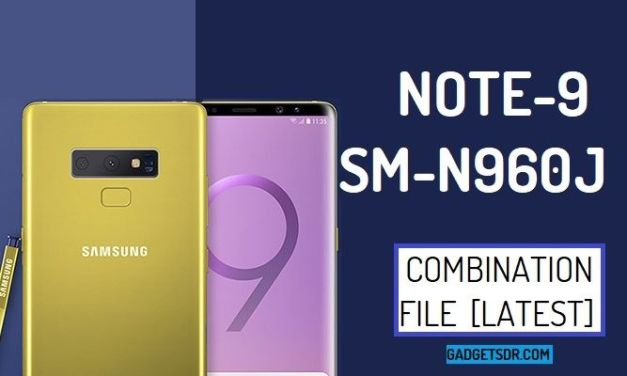 Samsung SM-N960J Combination Firmware Rom File