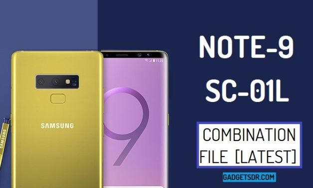 Samsung Note 9 SC-01L Combination Firmware Rom File
