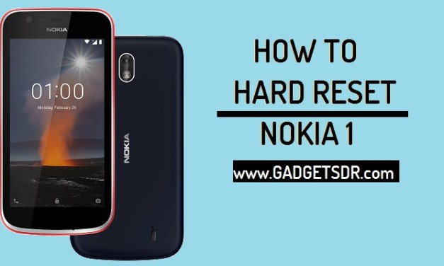 How to Unlock Pattern Nokia 1 By Hard reset (Android Go)