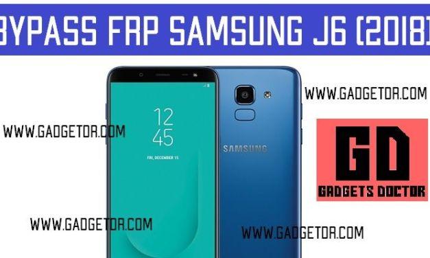 Bypass FRP Google Account Samsung Galaxy J6 (2018) | Remove FRP J600F| J600G FRP,