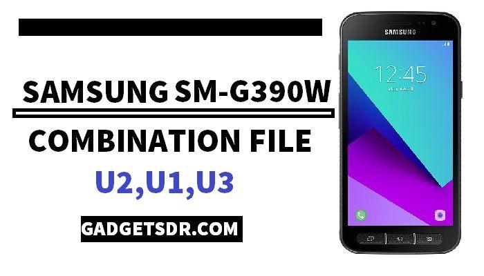 Samsung SM-G390W Combination File (Firmware Rom)