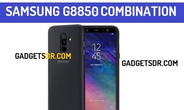 Samsung SM-G8850 Combination File (Firmware Rom)