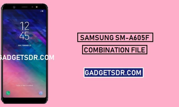 Samsung SM-A605F Combination file (Firmware ROM) -Latest